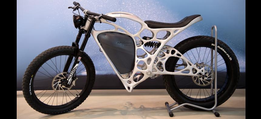 Light Rider : la moto d'Airbus imprimée en 3D