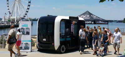 Le minibus Olli : un concentré de nouvelles technologies